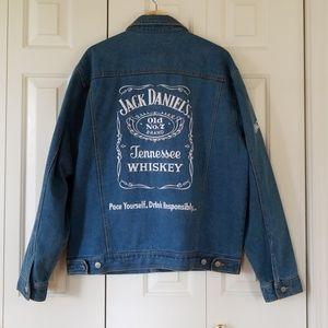 Old School Jack Daniels Racing Denim Jacket